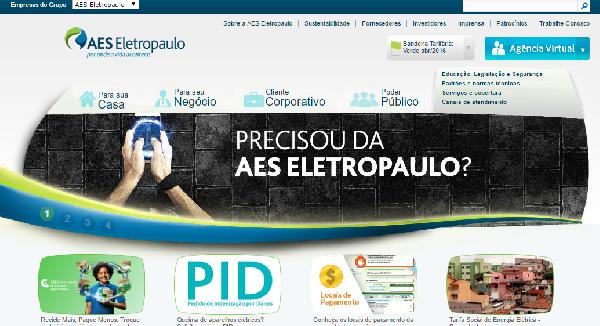 A Eletropaulo é uma empresa fornecedora de energia elétrica para o estado de São Paulo (Foto: Divulgação Eletropaulo)