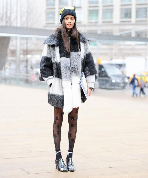Os modelos de meia calças podem variar (Foto: Divulgação MdeMulher)