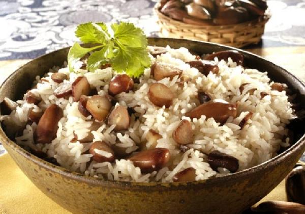 Pinhão com arroz (Foto: Divulgação MdeMulher)