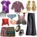 Acessórios e roupas dos anos 60 (Foto: Divulgação)