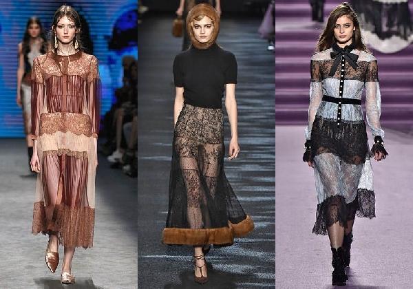 A mistura de renda se faz presente na moda inverno 2016 (Foto: Divulgação MdeMulher)