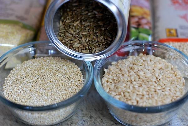 Arroz integral é rica fonte de proteína vegetal (Foto: Divulgação)