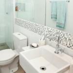 Banheiros Pequenos Decorados. (Foto: Divulgação)