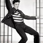 Elvis Presley inspirava os garotos rebeldes. (Foto: Divulgação)