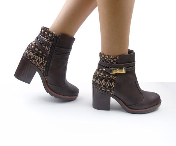 As botas de frente redonda são também conhecidas como coturnos (Foto: Divulgação MdeMulher)