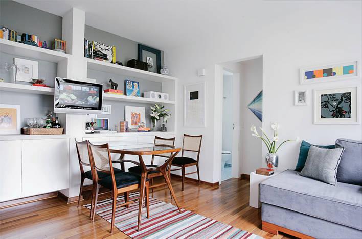 Decorar apartamentos pequenos for Decorar apartamento pequeno fotos