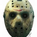 A máscara do Jason não podia faltar (Foto: Divulgação)