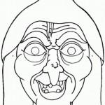 Mais uma máscara de bruxa (Foto: Divulgação)