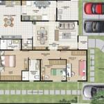 Planta De Casas Com 3 Quartos (2)