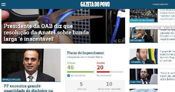 Com o Gazeta do Povo você pode comprar, vender e anunciar (Foto: Divulgação Gazeta)