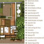 Exemplo de planta de casa sustentável. (Foto: Divulgação)