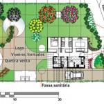 A casa apresenta sistemas construtivos ecológicos. (Foto: Divulgação)