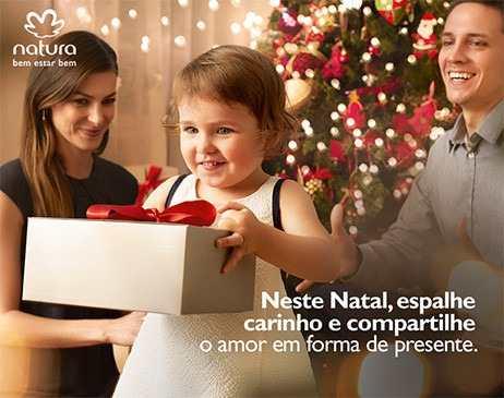 Presente de Natal Natura 2015 (Foto: Divulgação)