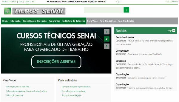 Cursos gratuitos do Senai (Foto: Divulgação)