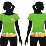 Aplicação Camiseta Feminina
