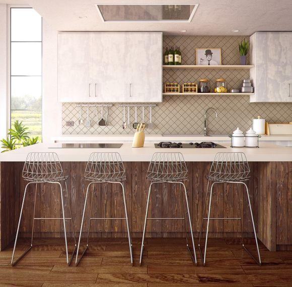As cozinhas mais modernas e elegantes contam com fogões cooktop (Foto Ilustrativa)