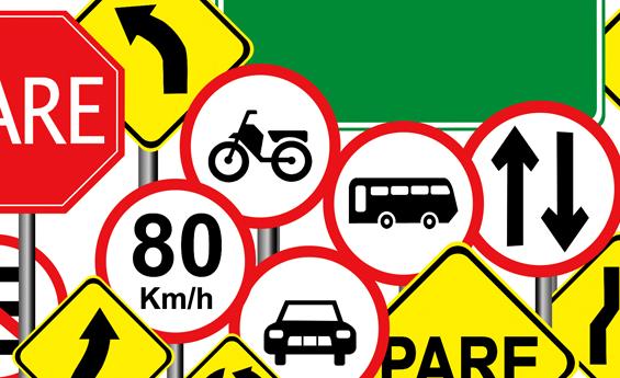 A Legislação de trânsito é fundamental para manter a ordem no trânsito brasileiro (Foto: Divulgação)