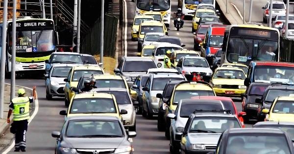 O Trânsito nas grandes cidades está caótico (Foto: Divulgação)