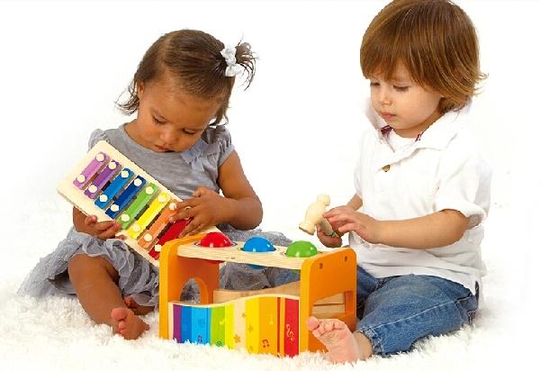 Brinquedos sonoros ensinam brincando (Foto: Divulgação)