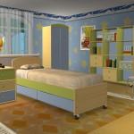 No quarto dos meninos abuse do azul, verde ou demais tons que o garoto adora (Foto: Divulgação)