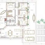 Planta de Casas com 4 Quartos (4)