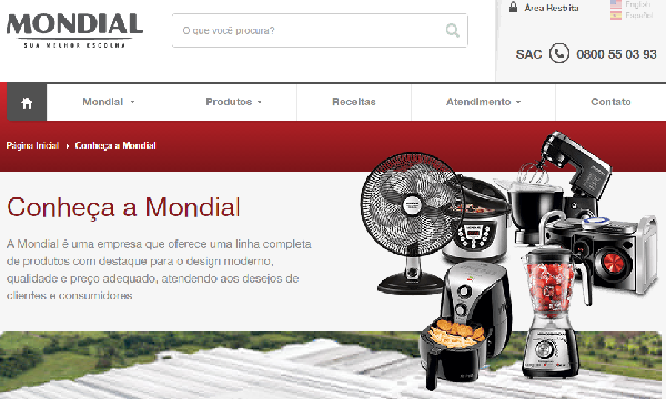 Assistência Técnica Mondial – Autorizadas (Foto: Divulgação Mondial)