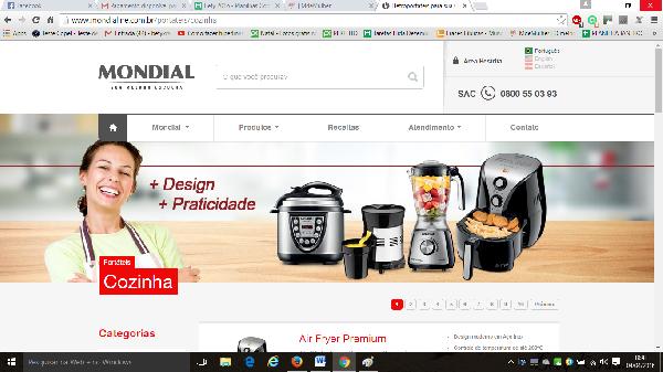 A Mondial oferece assistência técnica a todos os seus aparelhos (Foto: Divulgação Mondial)