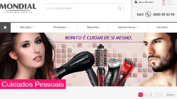 Até produtos de beleza a Mondial tem (Foto: Divulgação Mondial)