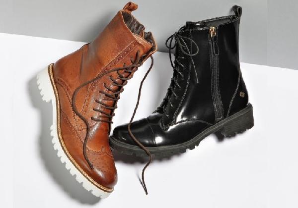 As botas estilo coturnos estão em alta no inverno 2016 (Foto: Divulgação MdeMulher)