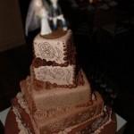 O bolo desenhado é muito bonito (Foto: Divulgação)