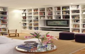 Sala de TV: Escolha a Decoração que mais Orne no Ambiente