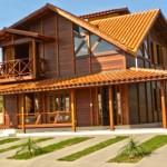 Planta de Casas de Madeira