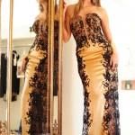 Vestido longo bordado. (Foto: Divulgação)