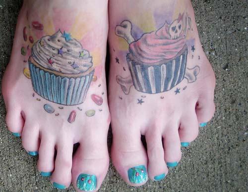 Tatuagem feminina no pé (Foto: Divulgação)