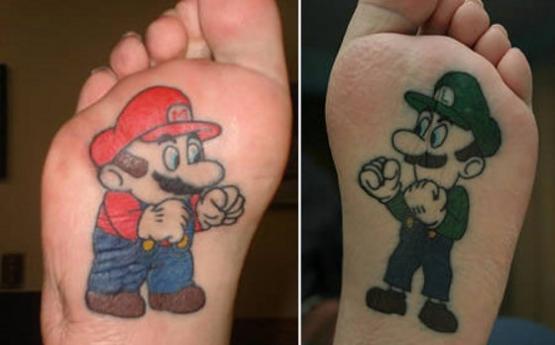 Tatuagem feminina para os pés (Foto: Divulgação)