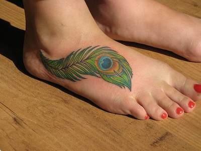 Tatuagem diferente para o pé (Foto: Divulgação)