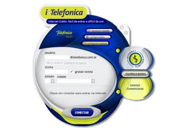 Provedor Itelefônica. Quem lembra? (Foto: Divulgação)