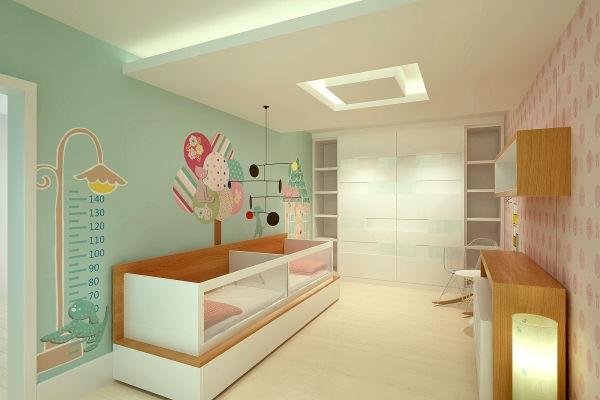 Pintura de parede em quarto infantil fotos e dicas for Pintura de paredes interiores fotos