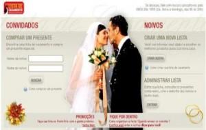 Ponto Frio Lista De Casamento
