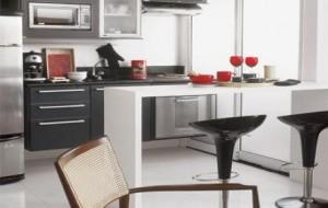 Cozinha Americana Apartamento Pequeno – Fotos