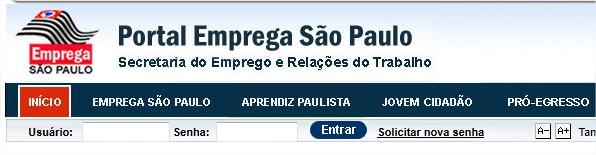 Emprega sp.gov.br - Site de Empregos em São Paulo