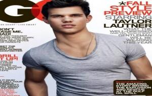 Ator de Eclipse Taylor Lautner na Capa de Revista GQ