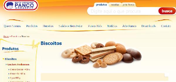 A Panco é uma empresa do ramo alimentìcio(Foto Divulgação: Panco)