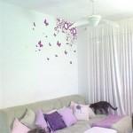 Adesivos de parede – Modelos, como aplicar