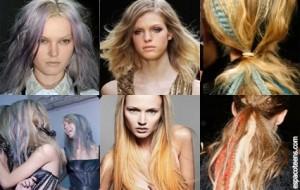 Moda Cabelos Coloridos – Tendências 2010-2011