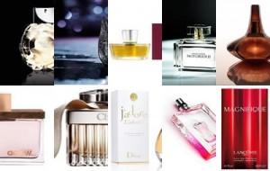 Perfumes Femininos mais Usados