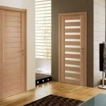 porta de madeira moderna