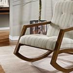 cadeira de balanço moderna