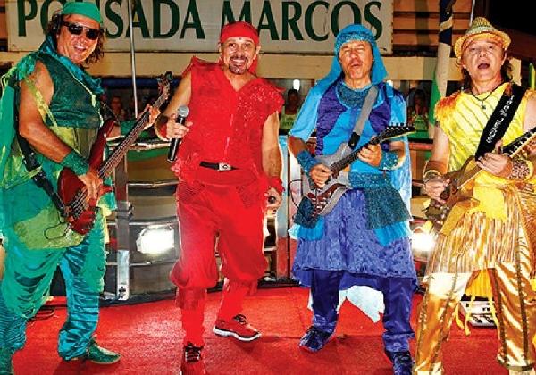 Inúmeras bandas famosas fazem a festa dos blocos universitários (Foto: MdeMulher)