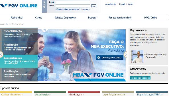 São cursos gratuitos na área de Finanças Pessoais (Foto: Divulgação FGV)
